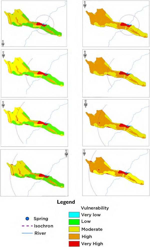 نقشه برداری آسیب پذیری درونی در سفره آب های