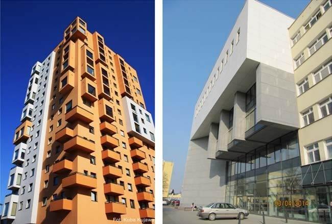 ساختمان های بلند و ساخت و ساز به دلایل معماری