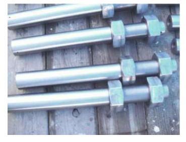 استوانه های مدور فولادی و چرخ دنده ها را برای روش مهاربندی ACM