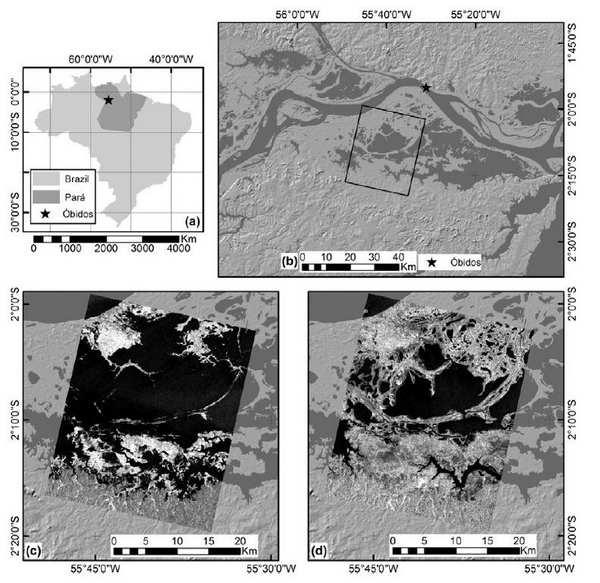ارزیابی C-باند SAR دو-فصلی کاملا-پلاریمتری جهت نقشه برداری پوشش