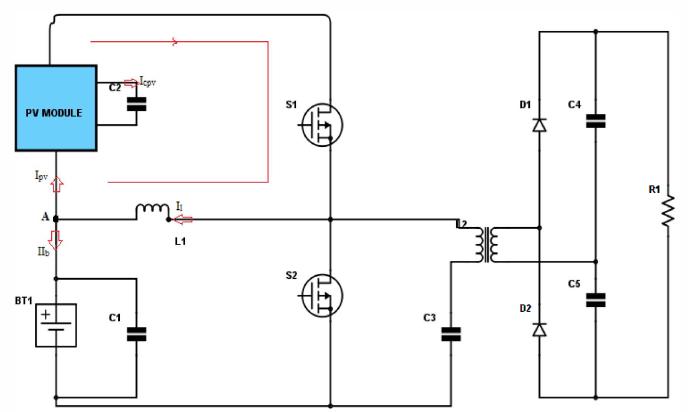 مبدل ورودی دوگانهی همراه ترانسفورماتور