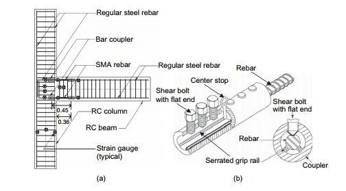 جزئیات نمونه ی 2- JBC و موقعیتهای درجات کرنش
