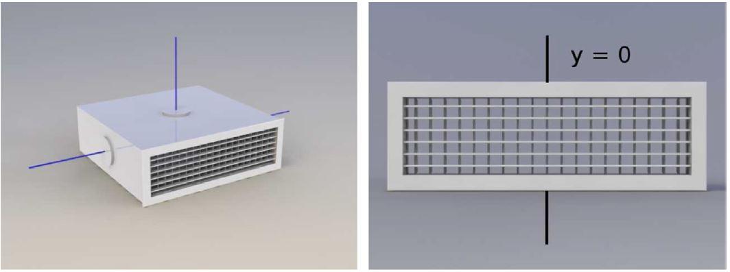 منتشر کننده دیواره HVAC