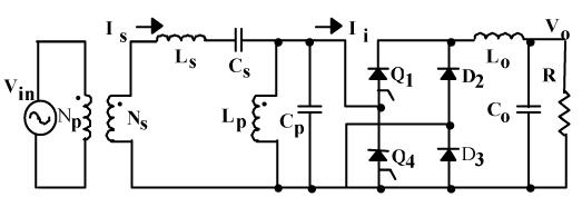 مبدل AC-DC برای PUPS در معماری توان فرکانس بالا