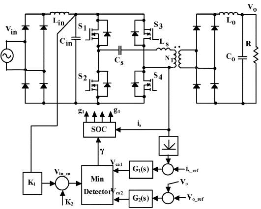 مبدل رزونانسی AC-DC یک مرحله ای