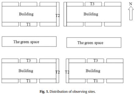 اثر سایه ساختمان بر روی فتوسنتز و فلورسانس کلروفیل شمشاد پیچ (Euonymus fortunei)