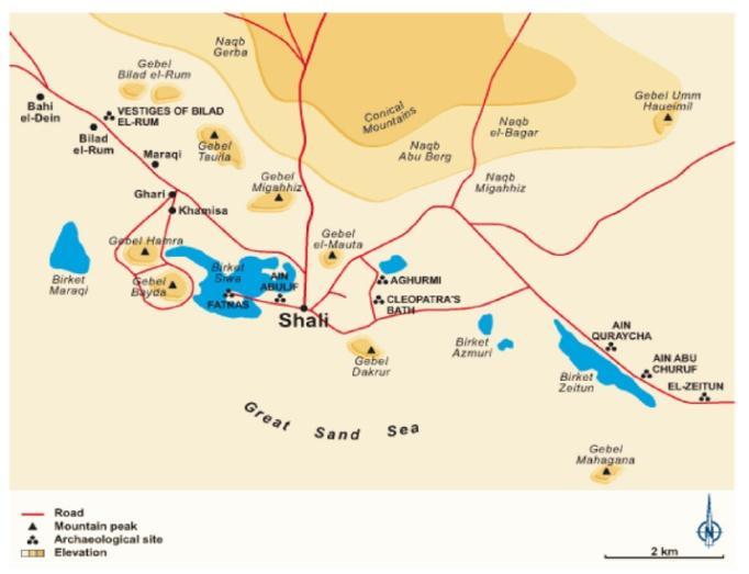 نقشهی واحهی سیوا
