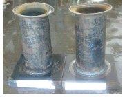 نمونه 3 به دو بخش در طول فشار تقسیم میشود