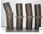 شکل نمونه ها قبل از تستهای فشار