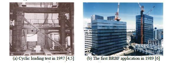 توسعه اولیه BRB ها در ژاپن